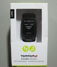 TomTom Spark Music GPS Fitness Watch Black large