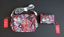 OILILY Floral Shoulder Purse AND Matching Wallet - New with Tags