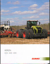 "Claas ""XERION"" 5000/4500/4000 American Tractor Brochure Leaflet"