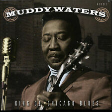 MUDDY WATERS - King of Chicago Blues - 97 SONGS -4 CDs-