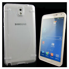 Pellicola+Custodia cover Atmosphere trasp bianco per Samsung Galaxy Note 3 N9005