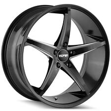 "Touren TR70 18x8 5x114.3/5x4.5"" +35mm Black/Milled Wheel Rim"