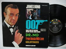 James Bond Back In Action LP 1964 Germany EX OIS  John Barry  Dr No Goldfinger