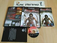 NINTENDO GAMECUBE GAME CUBE PRINCE OF PERSIA WARRIOR WITHIN COMPLETO PAL ESPAÑA