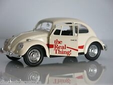 "1966 VOLKSWAGEN BEETLE ""COCA COLA"" THE REAL THING 1/24 MOTORCITY CLASSICS 440047"