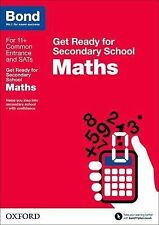 Bond 11+: Maths: Get Ready for Secondary School, Baines, Andrew, New Condition