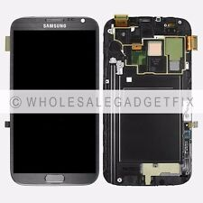 US AT&T Samsung Galaxy Note 2 i317 N710 LCD Display Touch Screen Digitizer Frame