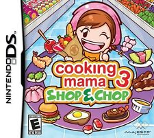 Cooking Mama 3: Shop & Chop - Complete Nintendo DS Game