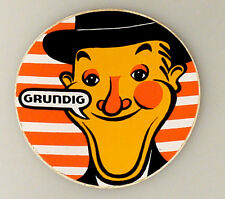 (PRL) ADESIVO STORICO GRUNDIG TV COLOR VINTAGE COLLECTION STICKER TELEVISION
