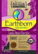 Earthborn Holistic Grain Free Lamb Meal Recipe Oven-baked Dog Treats - 2lbs