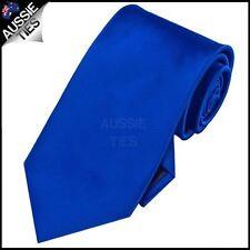 Mens Royal Blue Plain Necktie