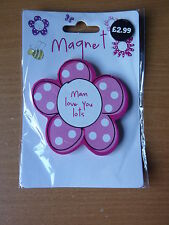 Mothers Day Mam Flower Magnet