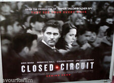 Cinema Poster: CLOSED CIRCUIT 2013 (Quad) Eric Bana Rebecca Hall Jim Broadbent