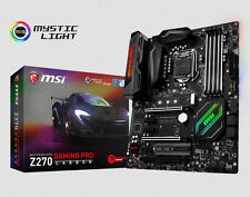 MSI Z270 Gaming PRO Carbon Mainboard Sockel 1151 DDR4 Dual Channel,M.2, RGB
