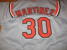 Baltimore Orioles Dennis Martinez signed Jersey W/COA