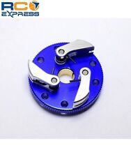 Hot Racing Traxxas Jato Blue Aluminum 3 Clutch Flywheel Kit TRX100S306