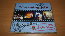 Hand Signed The Screaming Jets Tunnel 1994 Sample Aussie 1st Press CD rooArt x 4