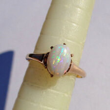 RAREST 1860 OSTBY BARTON PROTOTYPE 14k FIREY OPAL RING *ONE OF A KIND* S5.5