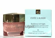 Estee Lauder Resilience Lift Night Firming Sculpting Face & Neck Creme 1.7 oz