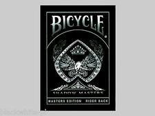 Bicycle SHADOW MASTERS Playing Cards - Ellusionist
