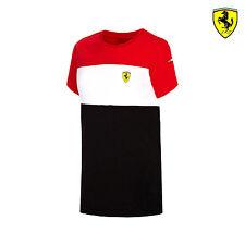 2016 Ferrari F1 Team Kids Race T-shirt Red/White/Black size 128 cm (kids) NEW