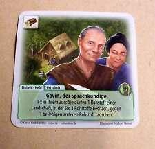 Die Fürsten von Catan - Gavin, der Sprachkundige Karte Sonderkarte Siedler Neu