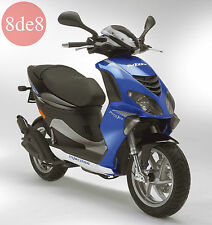 Piaggio NRG Power DD (2007) - Manual de taller en CD