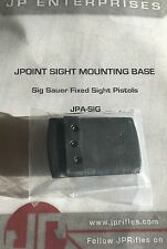SHIELD MINI SIGHT SMS JPOINT RED DOT SIG SAUER PISTOL REAR SIGHT DOVETAIL MOUNT