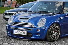 Spoilerschwert Frontspoilerlippe Cuplippe aus ABS für MINI Cooper S R50 mit ABE
