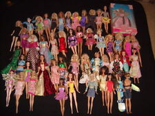 LARGE LOT OF 48 MATTEL BARBIE KEN DOLLS with Clothes Various Years + WalMart NIB