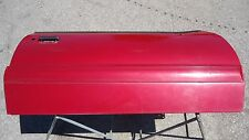 Red convertible door 87-93 Ford Mustang LX GT 5.0 2.3 passenger side rust free