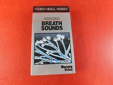 VIDEO SKILL SERIES BREATH SOUNDS  VHS    (#FILE11)