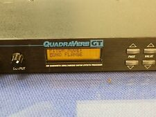 Alesis Quadreverb GT Classic Guitar effects unit. + PSU and Manual.