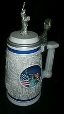 Avon Statue of Liberty America the Beautiful Stein