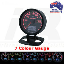 Greddy Multi D/A Water Temp Digital Analog 7 Colour Universal Fit + Volts