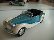 Solido Delahaye 135 M 1939 Figoni Falaschi in Light Blue/ WHite on 1:43