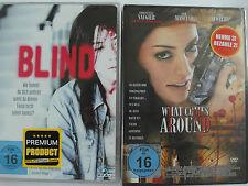 Thriller Sammlung Blind & What comes around - Serienmörder macht Jagd auf Blinde