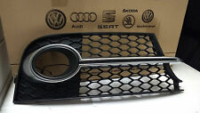 Genuine Audi TTS Front Bumper Grilles (Drivers Side OS) Fog Lamp Light Surround