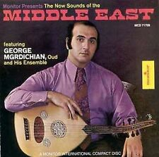 FREE US SH (int'l sh=$0-$3) NEW CD George Mrgdichian: Now Sounds of the Middle E