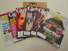 Guitar Player Magazines (6 Issues) 1991 Stevie Ray Vaughan Eddie Van Halen