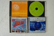 Konvolut 4 CD We are one family 1996 Deutsche Hits 93 Stealing Sounds  (Box 20)