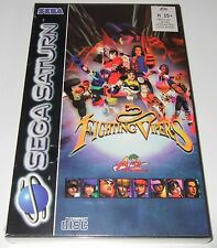 Sega Saturn - FIGHTING VIPERS - new and sealed, PAL version