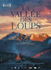 Affiche Roulée 40x60cm LA VALLÉE DES LOUPS (2017) JM Bertrand documentaire NEUVE