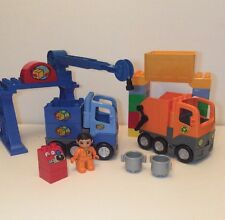 Lego Duplo Lot Garbage Recycling Truck Minifigure Control Bricks Hopper