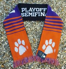 Clemson Tigers 2015 -2016 College Football Playoff Scarf Orange Bowl Scarf  CFP