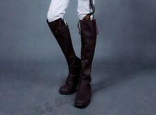 Attack on Titan(Shingeki no Kyojin)Eren Levi Mikasa cosplay shoes Boots