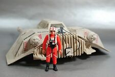 VINTAGE COMPLETE STAR WARS SNOWSPEEDER + LUKE SKYWALKER ACTION FIGURE KENNER