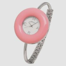 new + box women's Marc by Marc Jacobs MBM3398 PINK DONUT Stainless Steel WATCH
