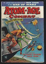 1953 St. John Atom Age Combat #5 GD
