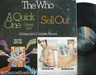 THE WHO ~ A Quick One / Sell Out ~ GATEFOLD DELUXE 2 x VINYL LP USA PRESS